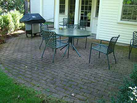 Merveilleux Wellesley Patio Before And After Before ...
